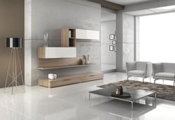 Obývací stěna moderní
