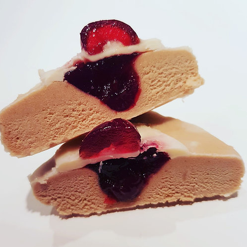 Cherry Bakewell Protein Square