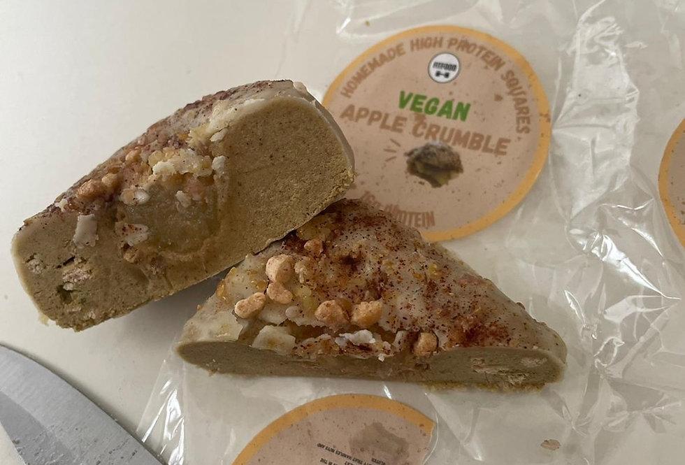 Vegan Apple Crumble Protein Square