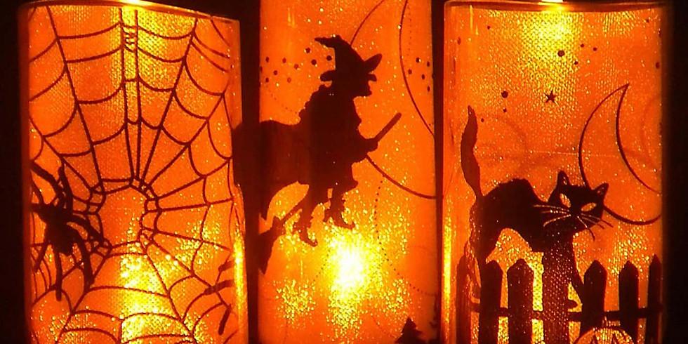 In the Spirit of Halloween Candlelight Restorative Yoga