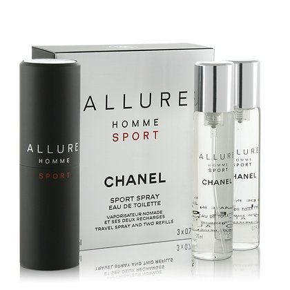 Perfume Allure Homme Sport Edt 3x 20ml