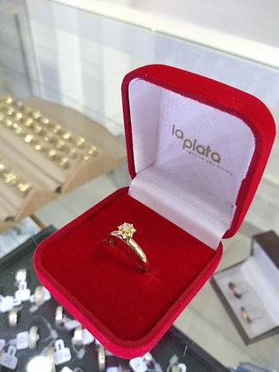 Anel em Ouro Lp0244