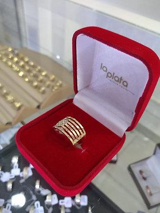 Anel em Ouro Lp0238