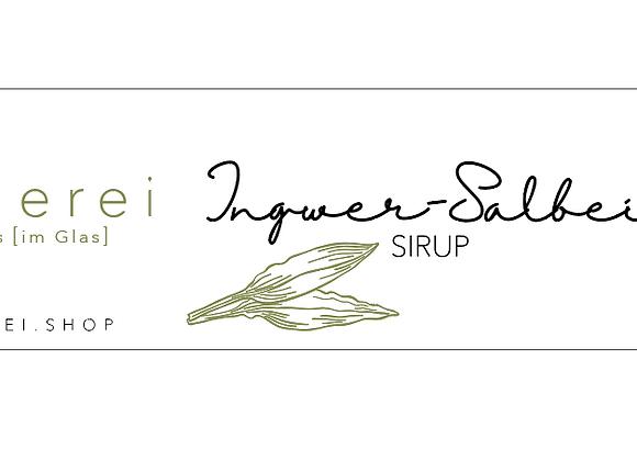 Ingwer - Salbei Sirup