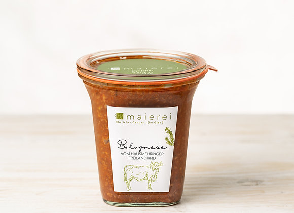 Bolognese vom Hausmehringer Freilandrind - 2 Portionen