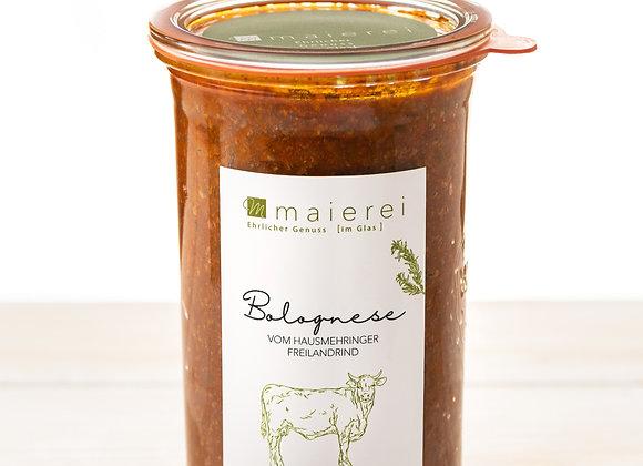 Bolognese vom Hausmehringer Freilandrind - 4 Portionen