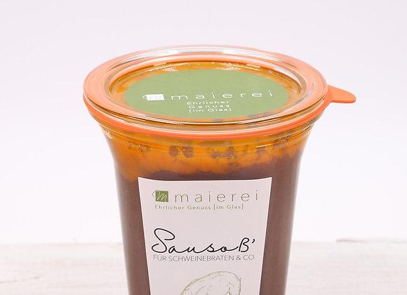 Sausoß - für Schweinebraten & Co. -  ca. 500ml
