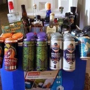 Beer & Liquor Basket