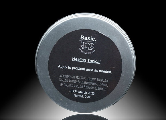 Healing Topical For Pain Relief