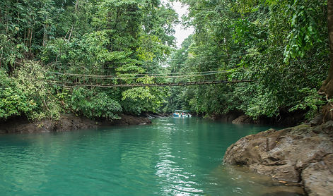 River in Drake Bay