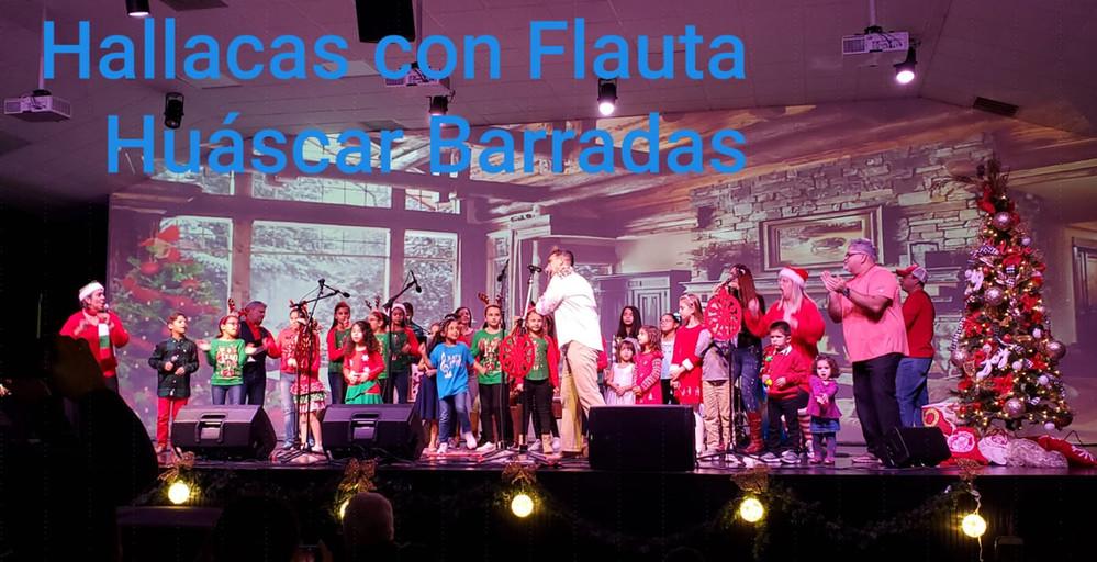 Noche de _Hallacas con Flauta_ y nuestro director Huascar Barradas