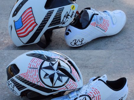 Ross Piper Designs teams with Compass Research Cycling Team!