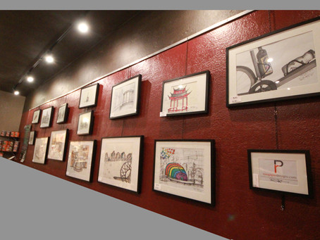 Artist Open House Exhibition at B3 Cafe