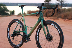 Custom painted Allied Able Gravel Bike