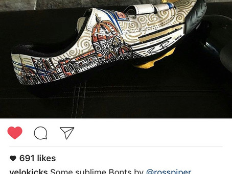 "Famous ""VeloKicks"" Instagram Features Ross Piper Designs - Duomo Kicks"