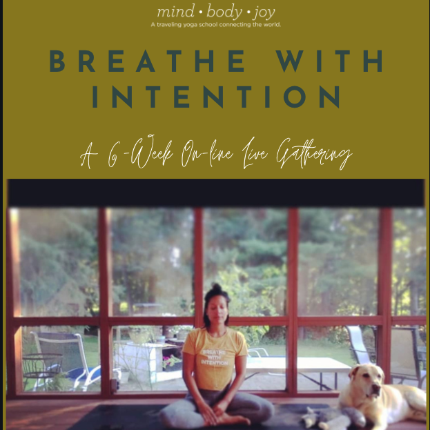 Breathe with Intention- A 6 week On-Line Gathering
