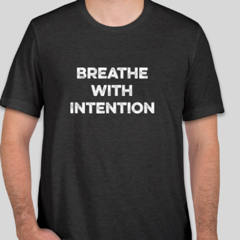 Breathe with Intention- Unisex Tee