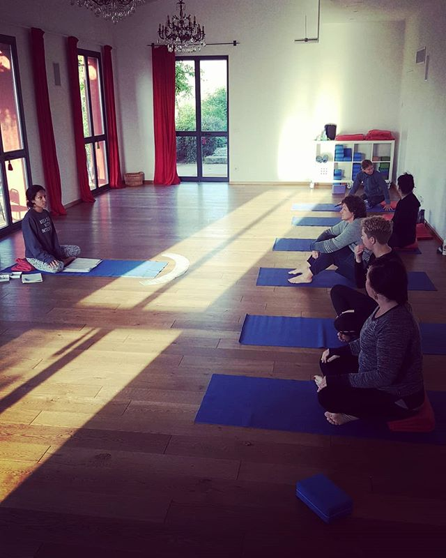 Day 5 of _Under the Tuscan Sun-Yoga Retreat _ started off with an early morning invigorating yoga se