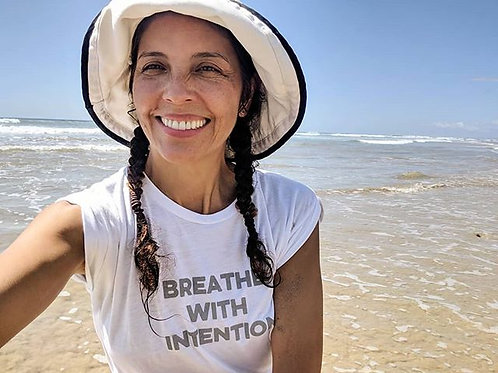 Breathe with Intention Muscle Tee