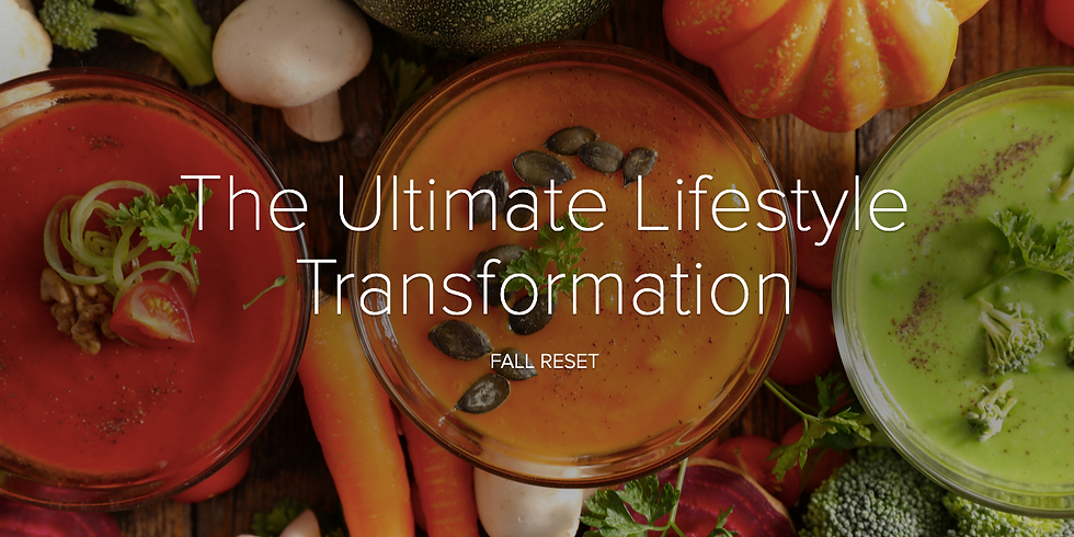 October Reset: 30 Day Ultimate Lifestyle Transformation