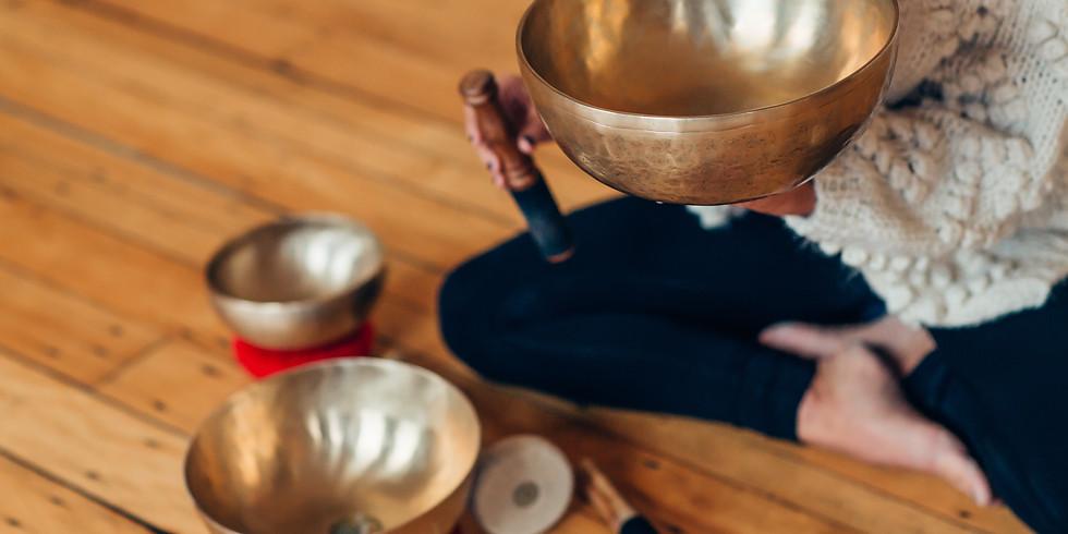 Yoga Nidra + Sound Bath- A Deep Relaxation Masterclass