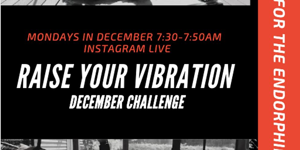 Raise Your Vibration- December Challenge