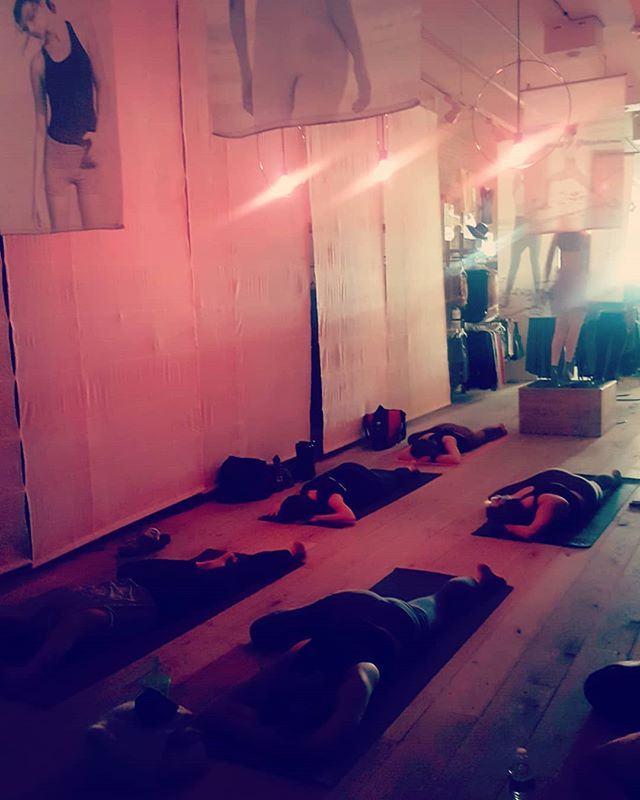 Many thanks to all those who attended the FREE CORE FLOW morning class today _freepeople Church St
