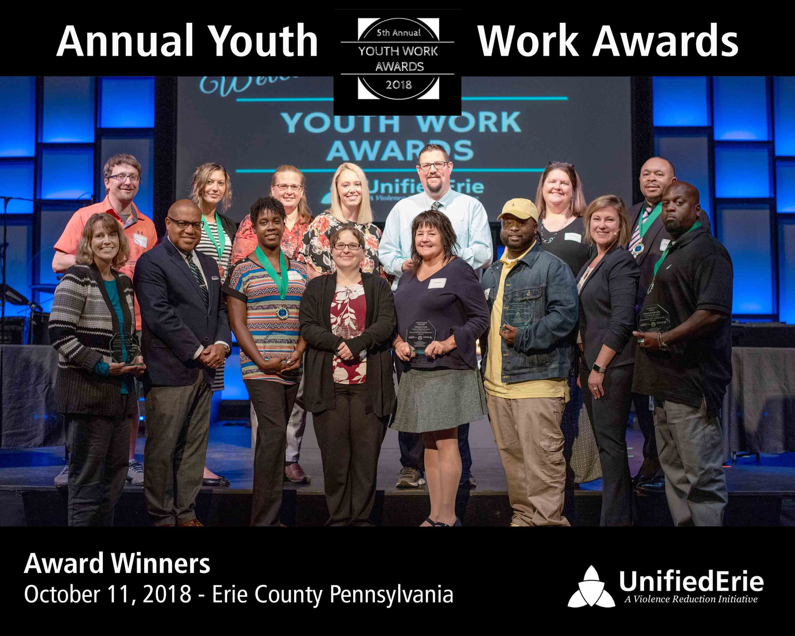 iamunifiederie youth work awards