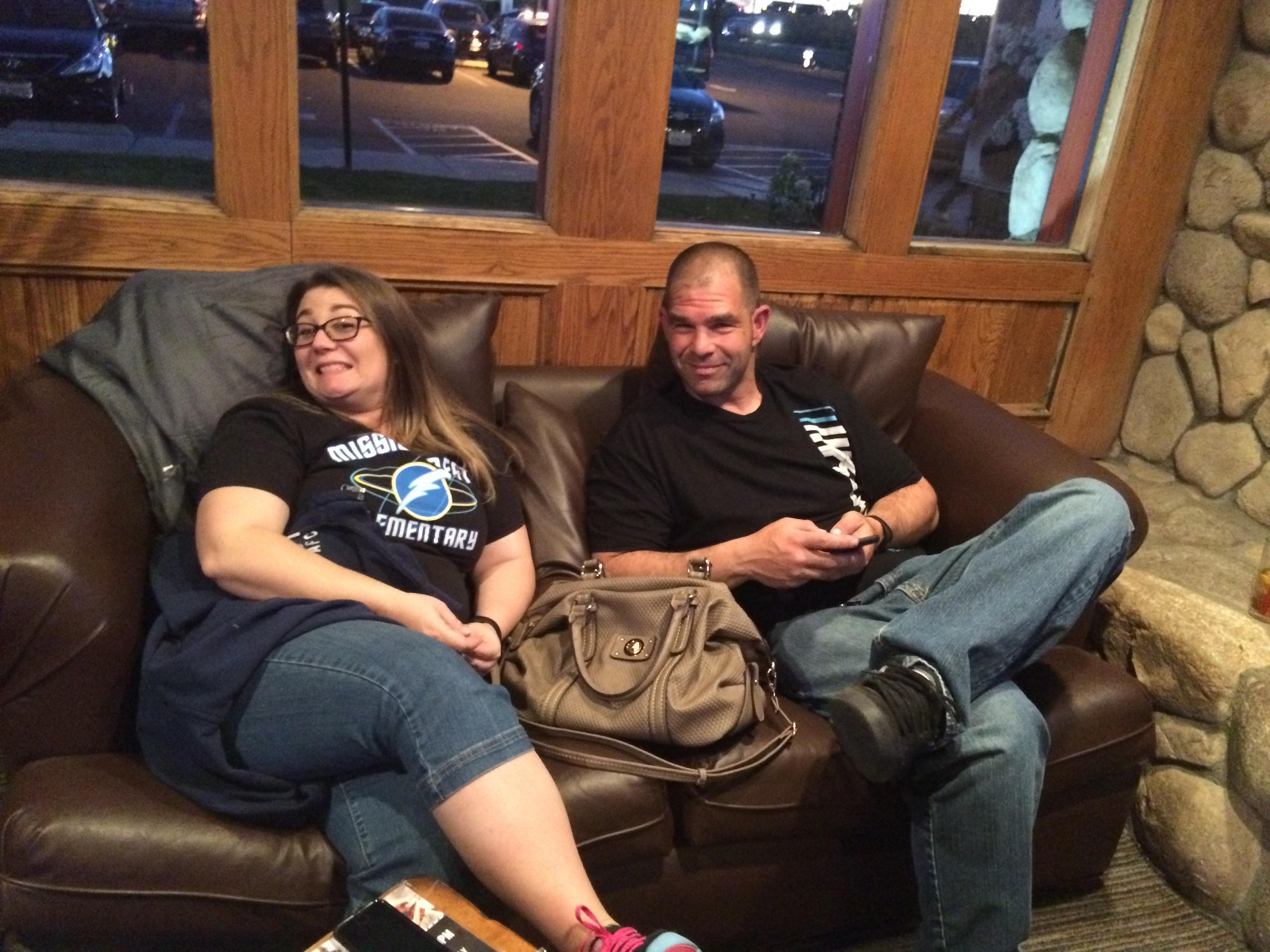 Members Relaxing at a Social