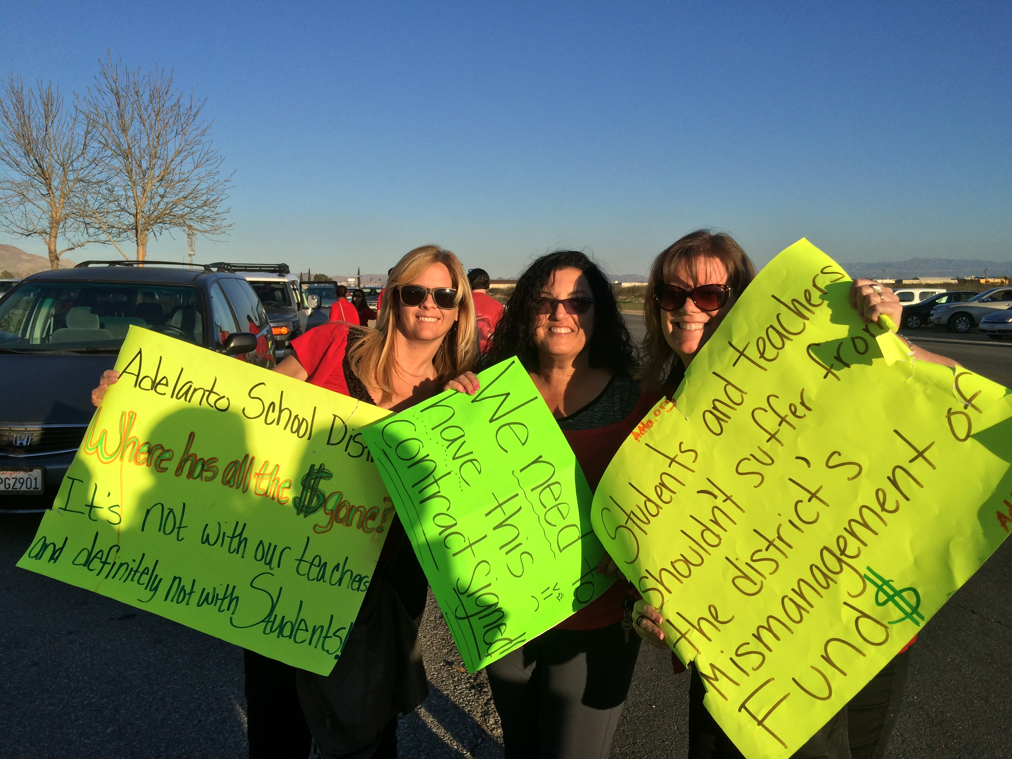 Supporting Teachers in Adelanto