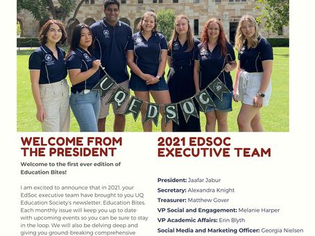 Education Bites: EdSoc Newsletter - February 2021 Issue