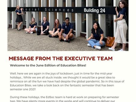 Education Bites: EdSoc Newsletter - June 2021 Issue