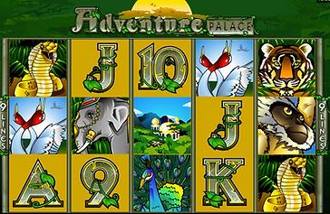 Adventure Palace Online pokies