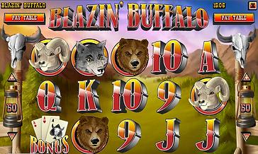 Blazin Buffalo Online Pokies