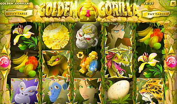 Golden Gorilla Online Pokies