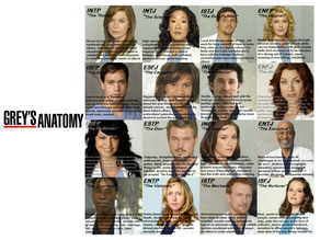MBTI Grey's Anatomy