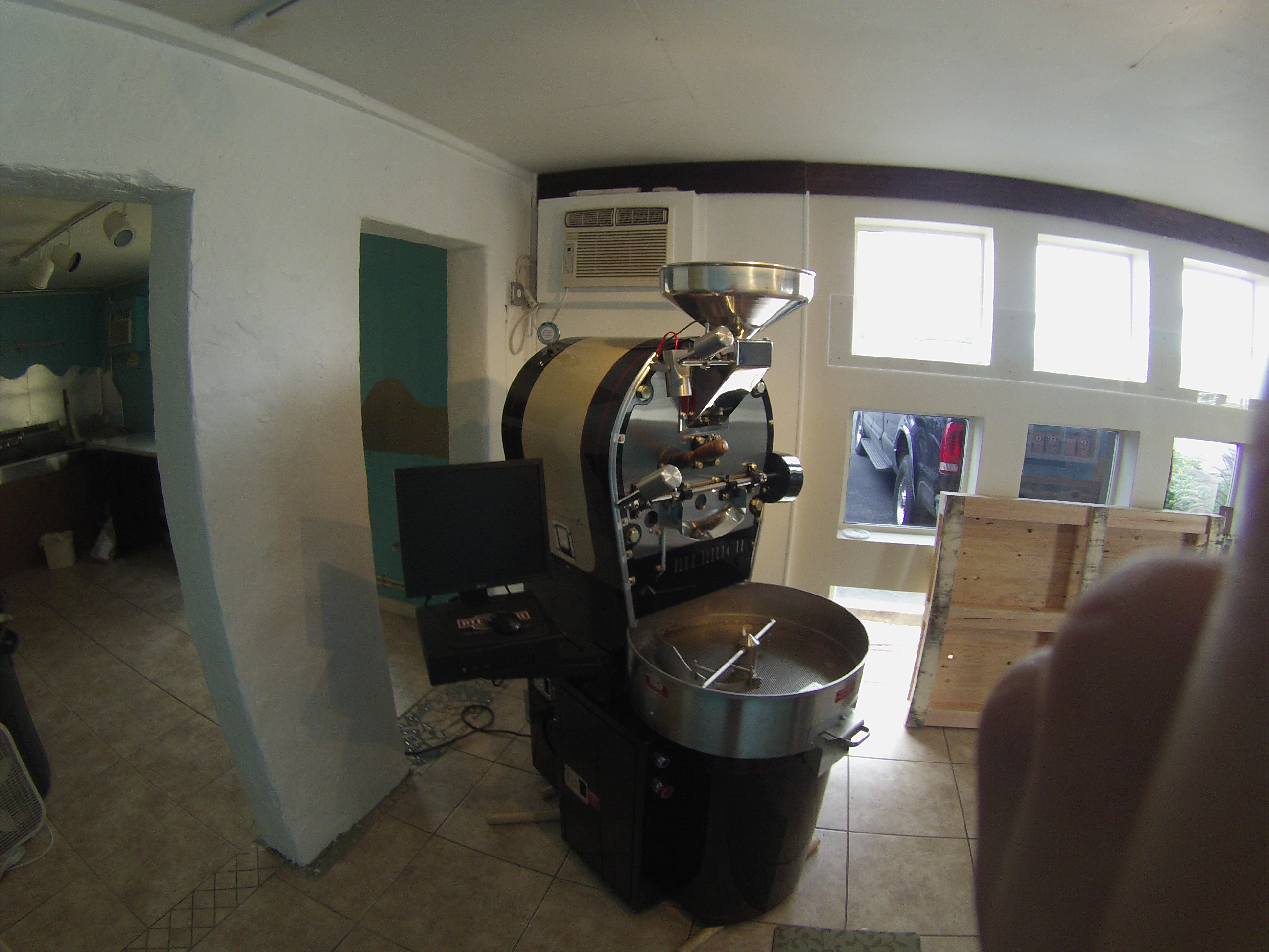 Natural Gas Coffee Roaster