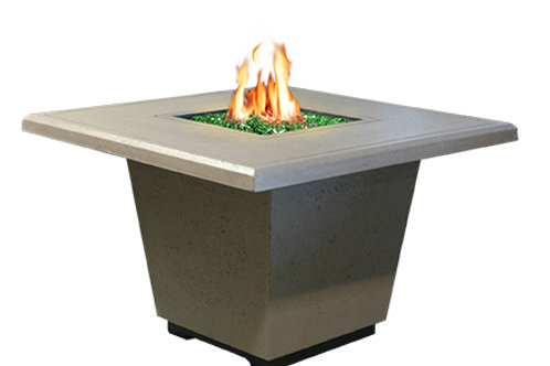 Modern Square Fire Table