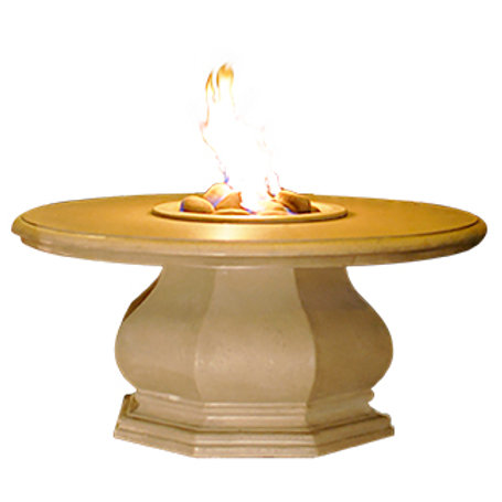 Octagon Fire Table