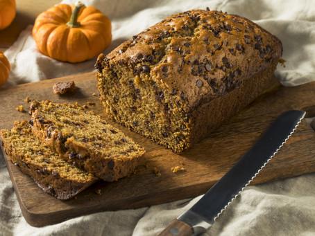 Organic Chocolate Chip  Pumpkin Bread