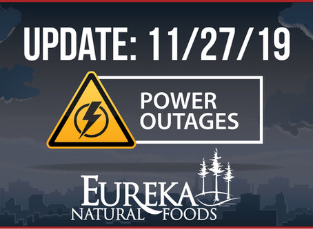 Power Outage Update 11/27/19
