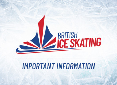 British Ice Skating Announcement on Coronavirus Impact