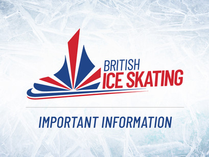 Skating from Weds 2nd December - initial guidance