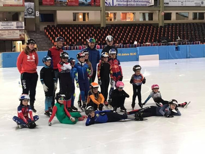 Short Track Speed Skating - International Summer Camp Oberstdorf, Germany