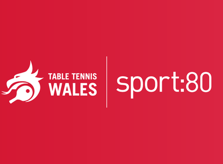 Table Tennis Wales joins the Sport:80 Community