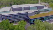 University of Toronto - Mississauga Campus - Geothermal Building Lobby Video