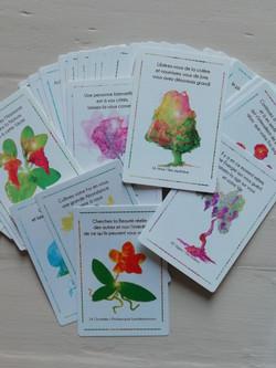 Cartes Messages des plantes du monde