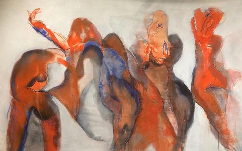 Danse orangée