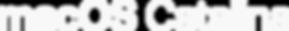 Apple macOS Catalina logo