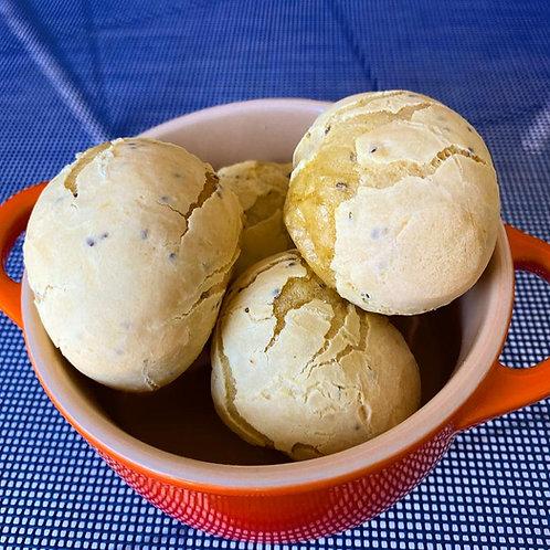 Pão de Mandioquinha Vegan